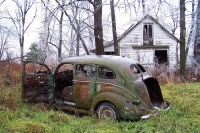 Abandoned Cars and Trucks