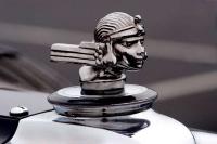 1929 Stutz Lebaron Hood Ornament