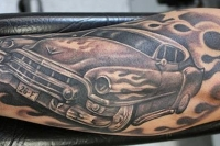 Car and Truck Tattoos