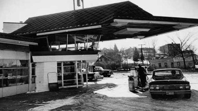 Worlds Only Frank Lloyd Wright Service Station