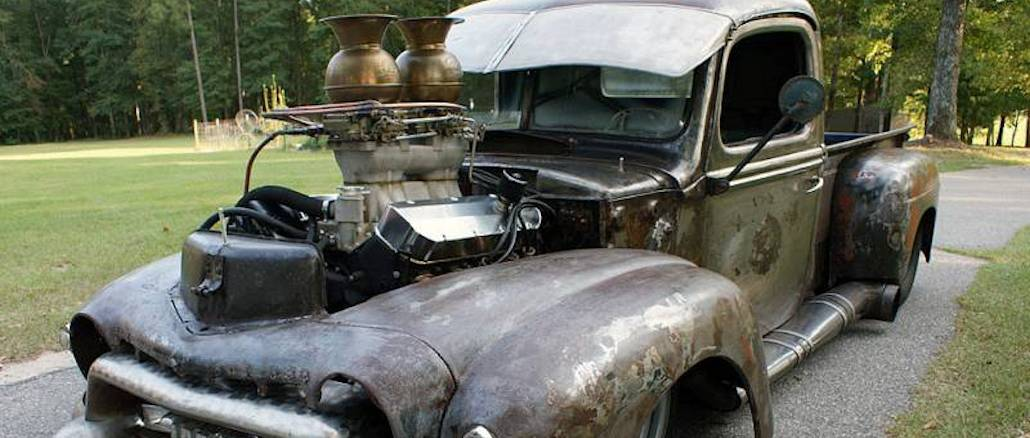 DELIVERANCE ~ 1947 Ford Pro-Street Rat Rod Pickup