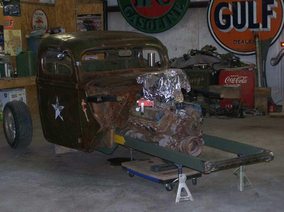 Darrik Hooper's 1943 Ford G8T Military Truck