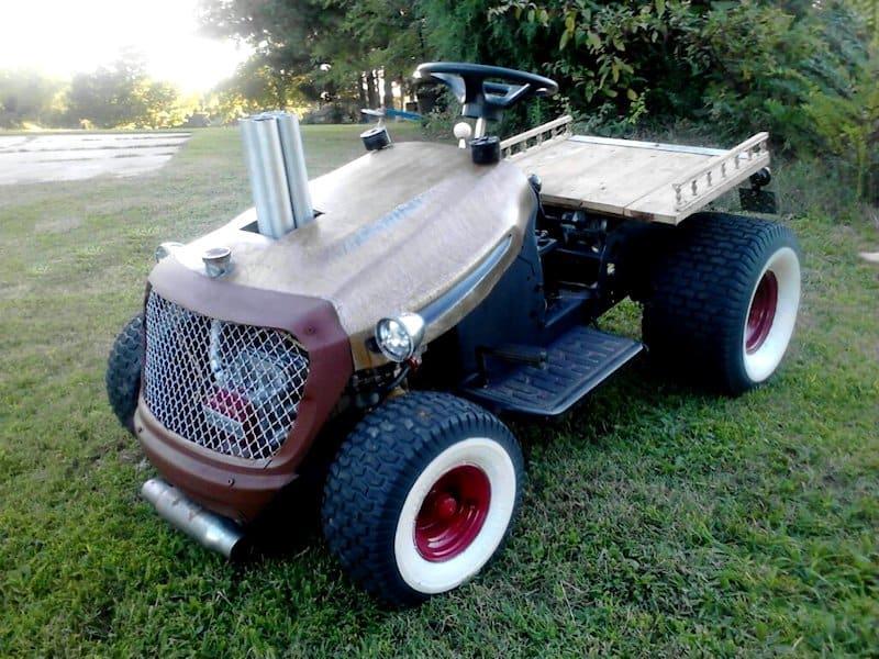 Rat Rod Lawn Mower