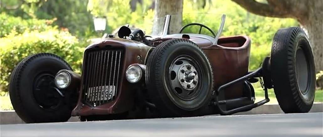 Satan's Rat-Rod: Henry Kessler's 1931 Ford