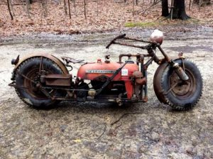 Farmall Cub Tractorcycle