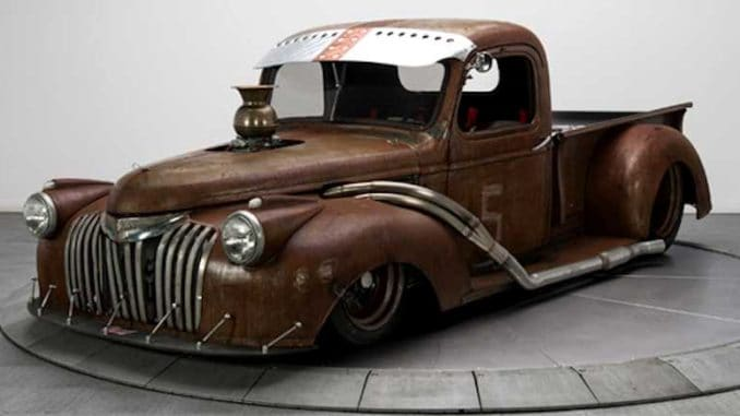 Chevrolet Reborn as Rat Rod