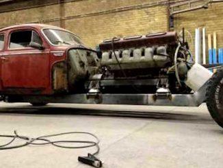 Victor Jonsson's V12 Diesel Powered 1960 Volvo PV544