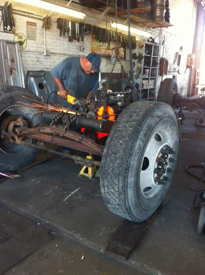 South Texas Performance Rat Rod Front End