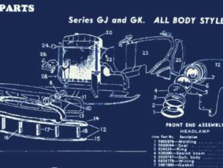 1946-53 American Classic Car Technical Sheets