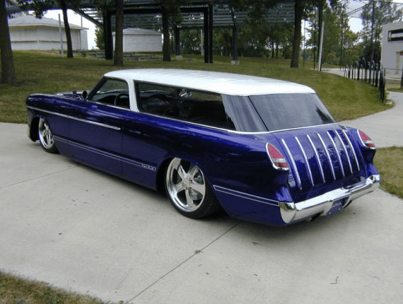 The Newmad 1955 Chevrolet Nomad Custom Roadkill Customs