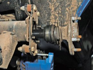 Axle Flange Housing Identification
