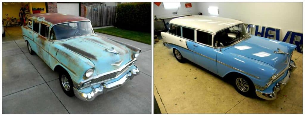 How to Give Your Old Car a New Look - Before and After