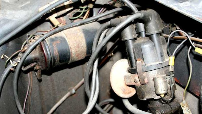 Ignition System Coil and Distributor