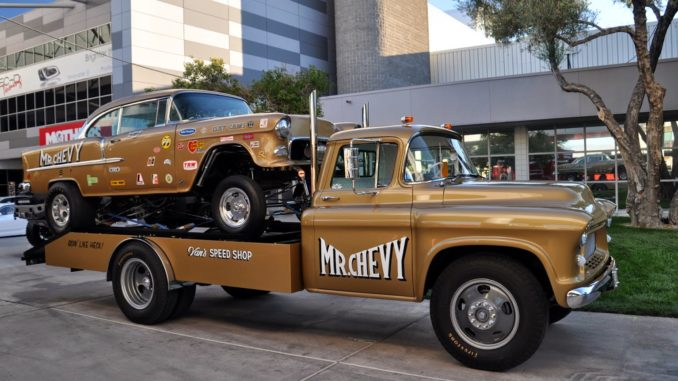 Mr Chevy Gasser and Hauler