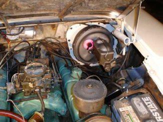 Power Brake Booster - Vacuum Assist