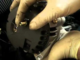 Remove and Replace an Alternator