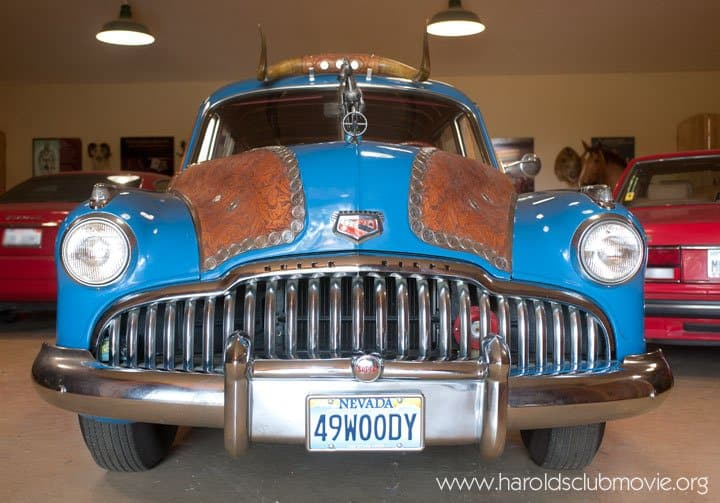 The Harolds Club 1949 Silver Dollar Buick Wagon