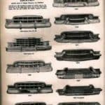 1950s Cadillac Bumper Styles