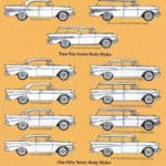 1957 Chevrolet Bel Air, Two-Ten and One-Fifty Body Styles