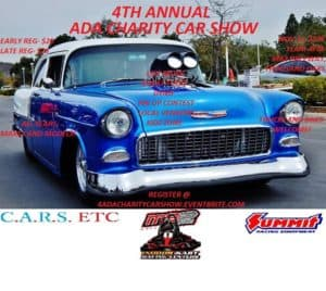4th Annual ADA Charity Car Show @ MB2 Raceway Indoor Kart Racing Centers   Thousand Oaks   CA   United States