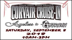 South Coast Corsa Corvair Cruise In: Ageless to Anarchy 2018 @ Automobile Driving Museum   El Segundo   CA   United States
