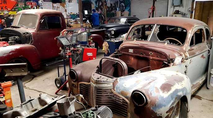Hot Rod Builds and Project Videos