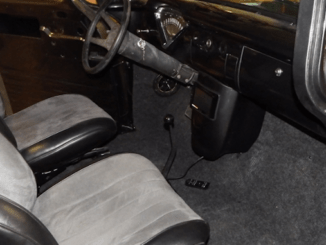 Custom Center Console - 1955 Chevrolet Truck Interior