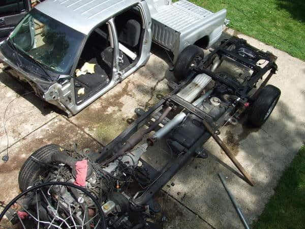 Donor Truck Teardown