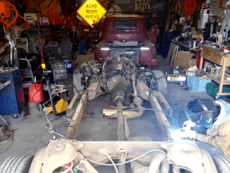 GM B-Body Chassis Narrowing for Body Swap