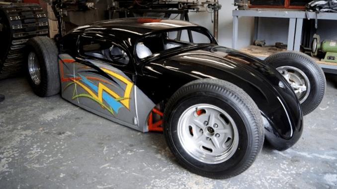 GSXR 1000 Powered VW Bug Hot Rod