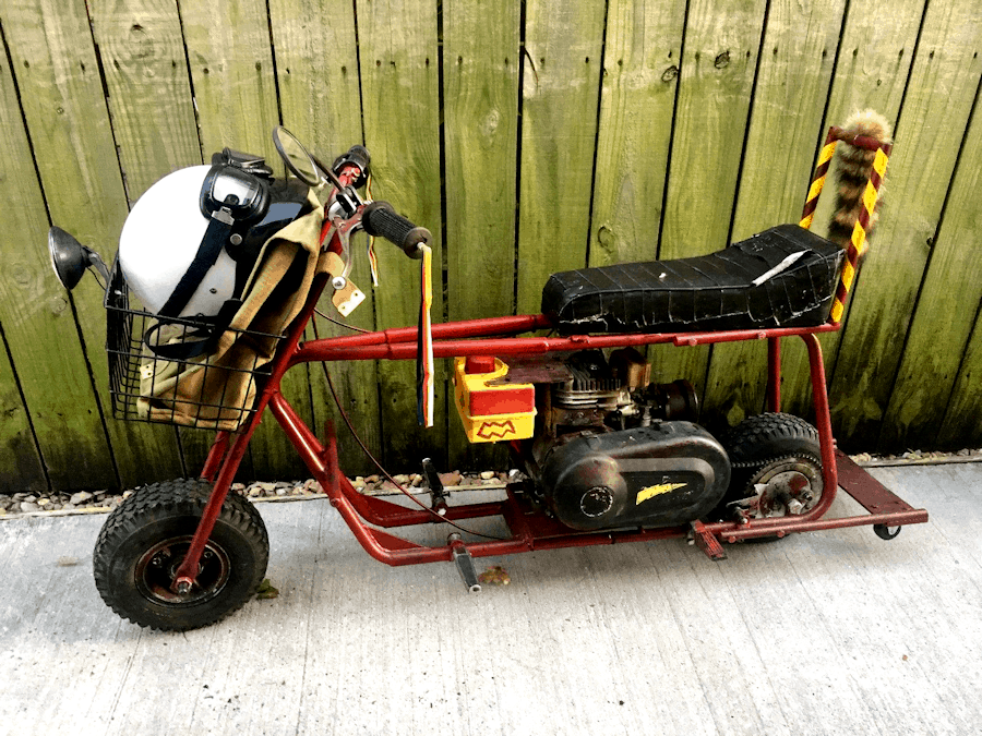 Original Dumb and Dumber Mini Bike For Sale on eBay