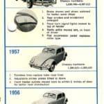 1956-59 Volkswagen Beetle