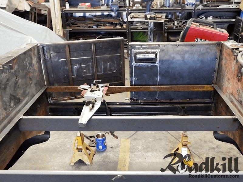 Barn Door Tailgate Project