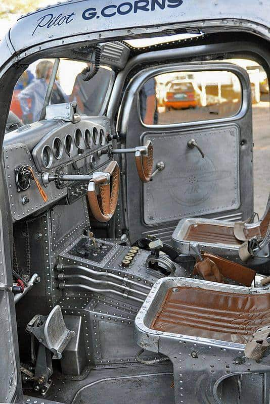 1939 Plymouth Air Radial Truck Interior