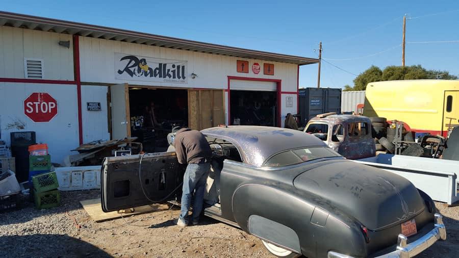 1950 Chevrolet Styleline Arizona Window Delete