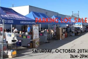 10th Annual Parking Lot Sale and Swap Meet @ California Car Cover   Chatsworth   CA   United States