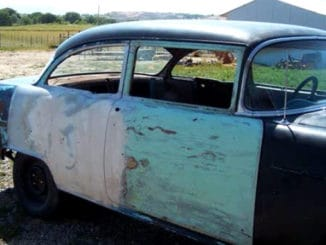 How To Convert a 1955, 56 or 57 Chevrolet From 4 Doors to 2 Doors