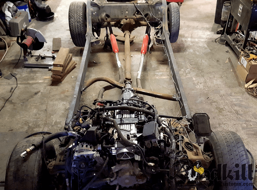How To Narrow a GM B-Body Chassis