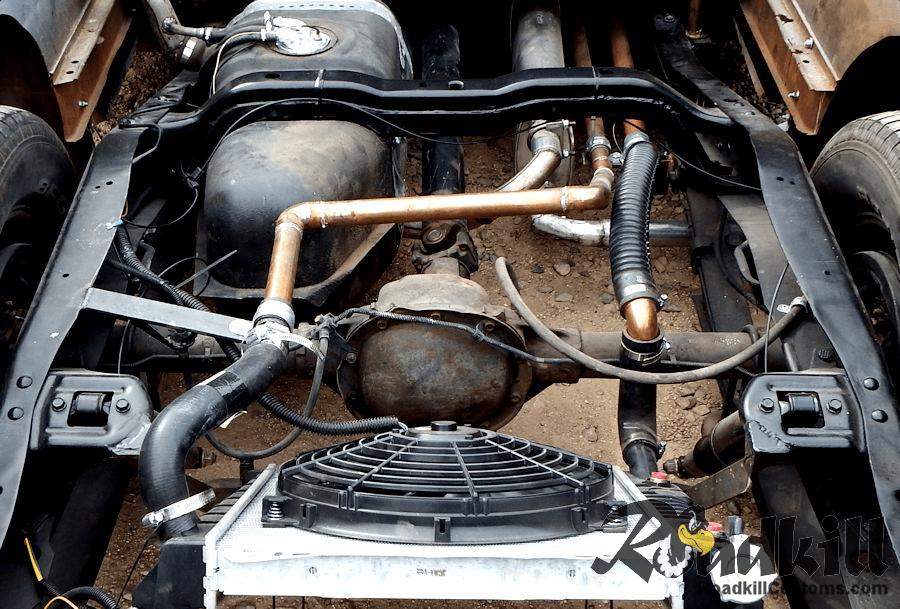 1951 Chevrolet 3100 6.0 Liter LQ4 LS Motor Swap