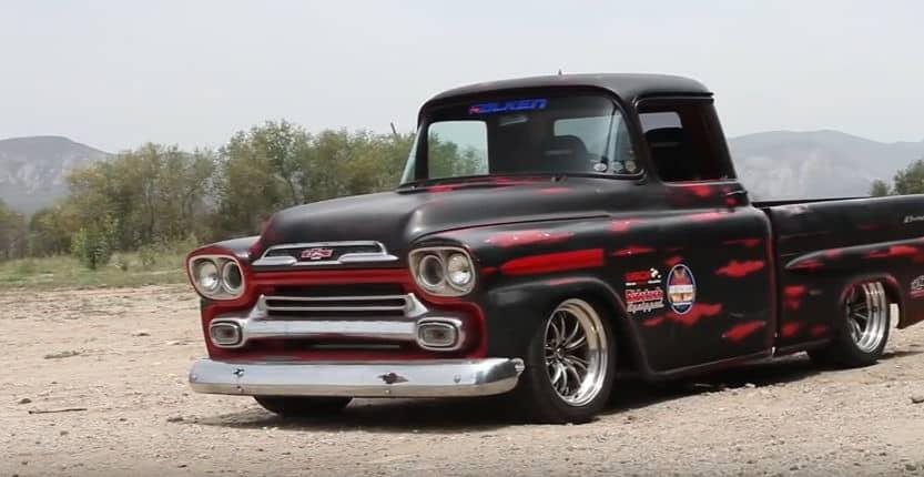 1959 Chevrolet Apache Fleetside Corner-Carver Side View