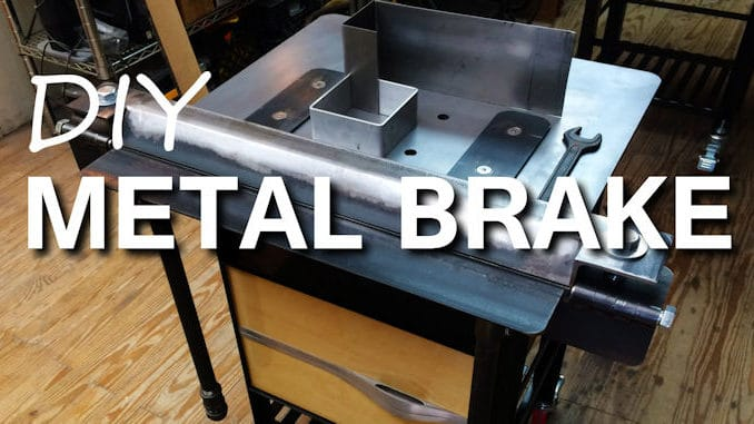 DIY Metal Brake for Sheet Metal