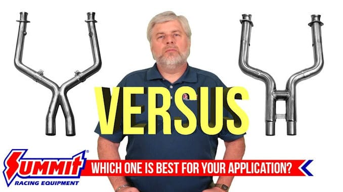 Exhaust H-Pipes vs X-Pipes