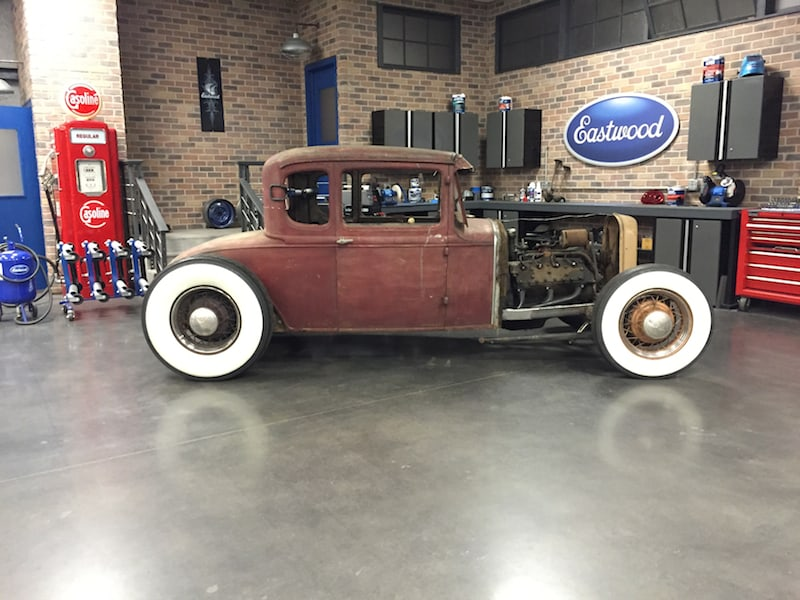 How To Channel A Ford Model A Body