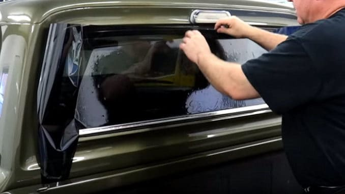 How to Tint a Back Window on a Classic Truck