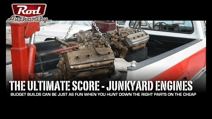 Junkyard Engines - The Ultimate Score
