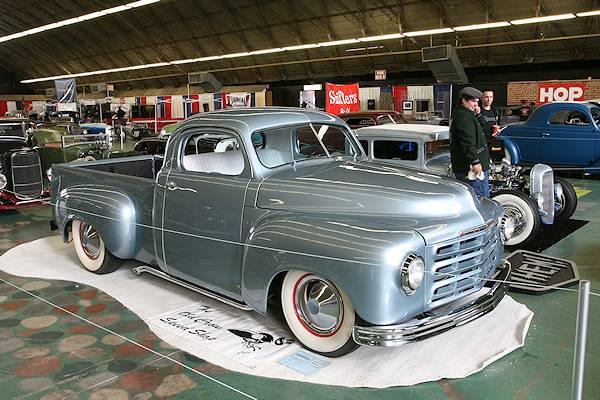 8ème AMERICAN CRAZY WEEK à Seignosse Studebaker_Truck_c