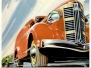 Vintage Automobile Advertising Artwork