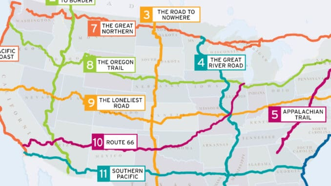 Road Trip USA ~ 11 Essential Road Trip Routes