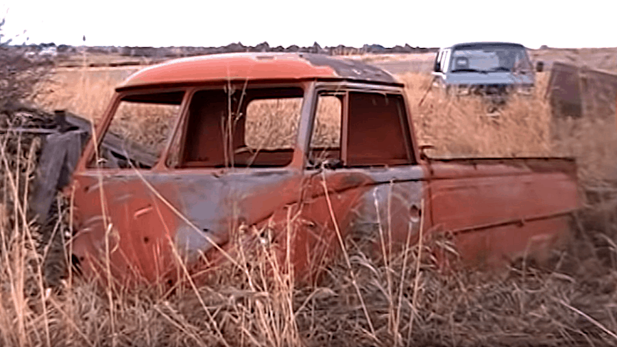Buried Volkswagen Single Cab Recovered After 45 Years