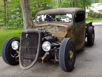 1936 Ford Rat Rod Truck Build